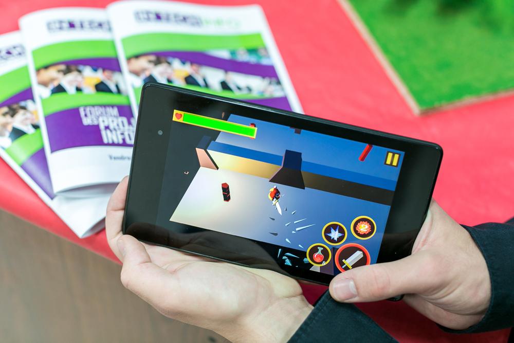 Epic Spirit, le jeu vidéo récompensé lors du Forum des Projets Informatiques