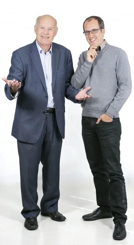 Jean-Michel Talavera et Eric Lalitte, directeurs des campus d'Agen et de Paris d'IN'TECH