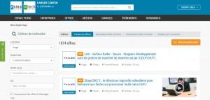 La nouvelle plateforme d'offres de stages et d'emploi du Groupe ESIEA