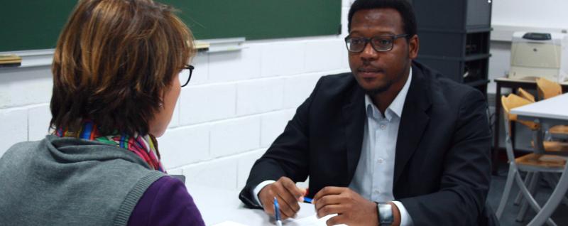 simulations d'entretiens pour les élèves d'IN'TECH