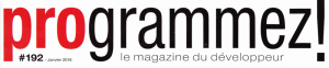 En-tête du magazine Programmez!