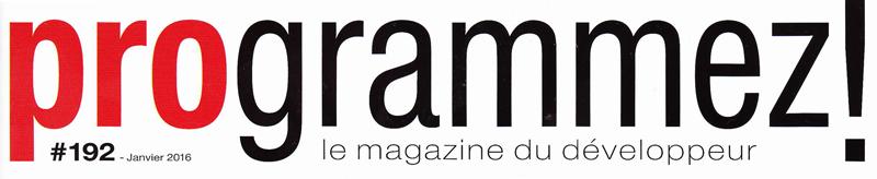 Un étudiant d'IN'TECH rédacteur dans le numéro de janvier 2016 du magazine Programmez!
