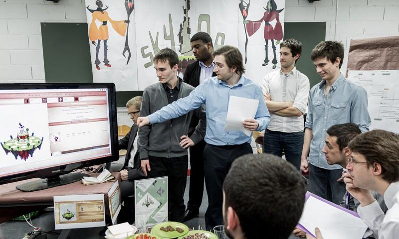 Le jeu vidéo Skylord des étudiants d'IN'TECH
