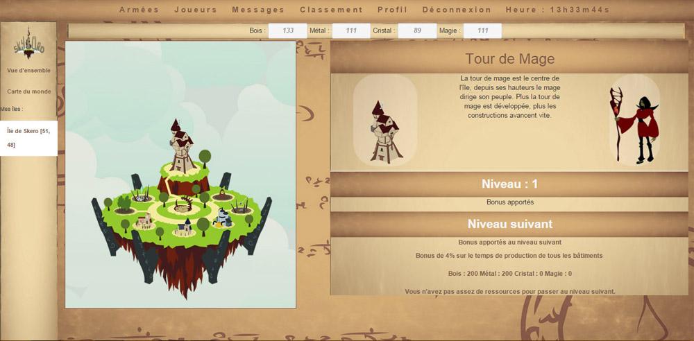 Skylord, le jeu vidéo des étudiants IN'TECH
