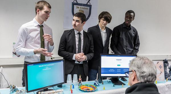 Projet informatique étudiant : JS Cavaliers