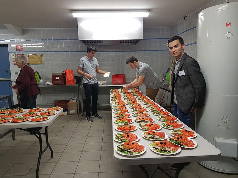 Projet Wetu Casamance repas