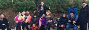 L'équipe du projet Happy Kids a accompagné des enfants hospitalisés au zoo de Vincennes