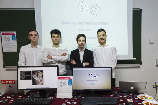 Projet informatique IN'Tech: Yam SuperStar
