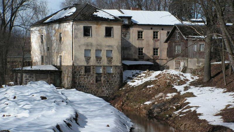 Le moulin à eau Koesti (Kösti) dans le cadre du projet Atlas