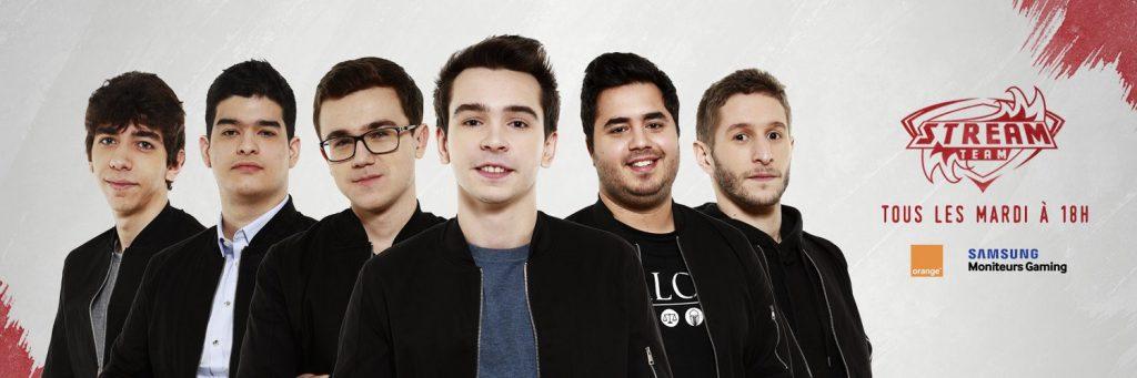 L'équipe de la Stream Team