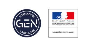 Montage logo GEN